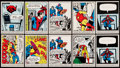 "Non-Sport Cards:Lots, 1966 Donruss ""Marvel Super Heroes"" Complete Sets Pair (66)...."