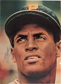 Autographs:Photos, Circa 1960's Roberto Clemente Signed Magazine Photograph....