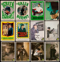 "Non-Sport Cards:Lots, 1966 Donruss ""Green Hornet"" Near Set (29/44) Plus Stickers (44/44) With Extras (94). ..."