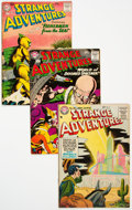 Silver Age (1956-1969):Science Fiction, Strange Adventures Group of 8 (DC, 1955-64) Condition: AverageVG+.... (Total: 8 Comic Books)