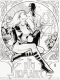 Original Comic Art:Covers, J. G. Jones Birds of Prey #31 Cover Black Canary OriginalArt (DC, 2001)....