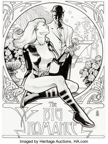 J G Jones Birds Of Prey 31 Cover Black Canary Original Art Dc Lot 94705 Heritage Auctions