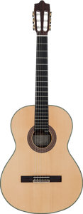 Musical Instruments:Acoustic Guitars, 2008 Alhambra 11P Natural Classical Guitar, Serial # 001624....