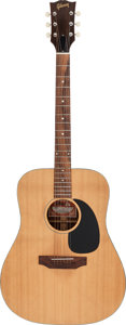 Musical Instruments:Acoustic Guitars, Circa 1970-1975 Gibson J-40 Model Natural Acoustic Guitar, Serial # 620025.. ...