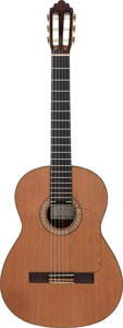 Musical Instruments:Acoustic Guitars, Tommy Tedesco's 1985 Greg S. Brandt M65 Natural Classical Guitar, Serial # 33....