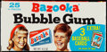 Baseball Cards:Unopened Packs/Display Boxes, 1971 Bazooka Gum Complete Box With Cards - With Johnny Bench. ...