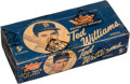 Baseball Cards:Unopened Packs/Display Boxes, 1959 Fleer Ted Williams 5-cent Wax Box with 24 Unopened 8-cardPacks. ...