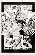 Original Comic Art:Panel Pages, Paul Gulacy and Jimmy Palmiotti Sci-Spy #2 Story Page 20Original Art (DC, 2002)....