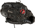 Autographs:Bats, 2000's Ken Griffey Jr. Game Worn Glove. ...