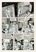 Original Comic Art:Panel Pages, Steve Stiles Death Rattle #7 Story Page 3 Original Art(Kitchen Sink Press, 1986)....