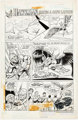 "Curt Swan and Tex Blaisdell Hostess Cup Cakes Ad ""Hawkman Makes A Safe Landing"" Complete 1-Page Story Original..."