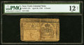 Colonial Notes:New York, New York April 20, 1756 £5 PMG Fine 12 Net.. ...