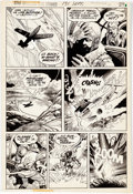 Original Comic Art:Panel Pages, Buddy Gernale Star Spangled War Stories #191 Story Page 3Original Art (DC, 1975)....