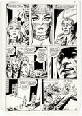 Original Comic Art:Panel Pages, Dick Ayers and Tony DeZuniga The Mighty Crusaders #6 StoryPage 7 Original Art (Archie, 1984)....