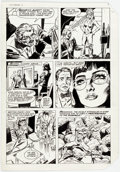 Original Comic Art:Panel Pages, Dick Ayers and Tony DeZuniga Mighty Crusaders #6 Story Page 8 Original Art (Archie, 1984)....