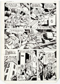 Original Comic Art:Panel Pages, Dick Ayers and Tony DeZuniga The Mighty Crusaders #6 StoryPage 6 Original Art (Archie, 1984)....