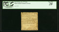 Colonial Notes:Rhode Island, Rhode Island May 22, 1777 $1/6 PCGS Very Fine 20.. ...