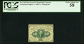 Fractional Currency:First Issue, Fr. 1240 10¢ First Issue PCGS Choice About New 58.. ...
