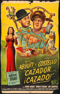 """Movie Posters:Comedy, Comin' Round the Mountain (Universal International, 1953) Folded, Very Good/Fine. Trimmed Argentinean One Sheet (27.25"""" X 43..."""
