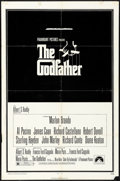"Movie Posters:Crime, The Godfather (Paramount, 1972) Folded, Fine+. One Sheet (27"" X 41""). S. Neil Fujita Artwork. Crime...."