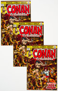 Bronze Age (1970-1979):Adventure, Conan the Barbarian #24 Group of 4 (Marvel, 1973) Condition: Average FN/VF.... (Total: 4 )
