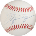 Baseball Collectibles:Balls, Circa 2000 Michael Jordan Single Signed UDA Baseball....