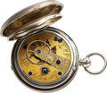 Timepieces:Pocket (pre 1900) , J. Waite Fellows, Harlem, NY, No. 5063 A High Grade Model 57 Copy. ...