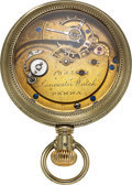 Timepieces:Pocket (pre 1900) , Adams & Perry Lancaster Watch 20 Size, 20 Jewels. ...