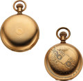 Timepieces:Pocket (pre 1900) , Keystone Watch Co. Two Rare 20 Jewel Watches. ... (Total: 2 Items)