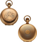 Timepieces:Pocket (pre 1900) , Two 20 Jewel Keystone Watch Co. Models. ... (Total: 2 Items)