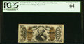 Fractional Currency:Third Issue, Fr. 1327 50¢ Third Issue Spinner PCGS Very Choice New 64.. ...