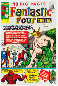 Fantastic Four Annual #1 (Marvel, 1963) Condition: FN+