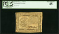 Colonial Notes:Continental Congress Issues, Continental Currency November 2, 1776 $5 PCGS Extremely Fine 45.. ...