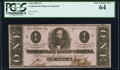 Confederate Notes:1863 Issues, T62 $1 1863 PF-1 Cr. 474 PCGS Very Choice New 64.. ...