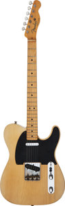 Musical Instruments:Electric Guitars, 1950 Fender Broadcaster Blonde Solid Body Electric Guitar, Serial # 0402....