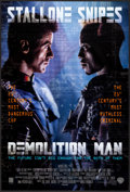 "Movie Posters:Science Fiction, Demolition Man & Other Lot (Warner Brothers, 1993) Rolled, VeryFine. One Sheets (2) (27"" X 40.25"" & 26.75"" X 39.75"") DS. Sc...(Total: 2 Items)"