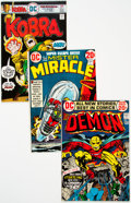 Bronze Age (1970-1979):Miscellaneous, DC Jack Kirby Group of 32 (DC, 1942-76) Condition: AverageFN/VF.... (Total: 32 )