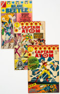 Silver Age (1956-1969):Superhero, Blue Beetle Related Group of 3 (Charlton, 1966-67).... (Total: 3 Comic Books)