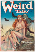 Pulps:Horror, Weird Tales - January 1938 (Popular Fiction) Condition: VG+....