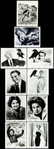 """Movie Posters:Hitchcock, The Birds (Universal, 1963) Fine/Very Fine. Photos (30) (8"""" X 10"""").Hitchcock.... (Total: 30 Items)"""