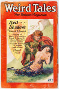 Pulps:Horror, Weird Tales - August 1928 (Popular Fiction) Condition: VG-....