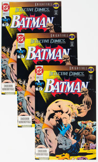 Detective Comics #659 Box Lot (DC, 1993) Condition: Average NM