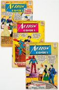 Silver Age (1956-1969):Superhero, Action Comics Group of 32 (DC, 1961-69) Condition: Average...