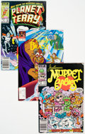 Modern Age (1980-Present):Miscellaneous, Various Publisher Kids Long Box Lot (Various Publishers, 1980s-90s) Condition: Average VF....