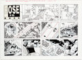Original Comic Art:Comic Strip Art, Pat Brady Rose is Rose Sunday Comic Strip Original Art dated10-20 (United Features Syndicate, 1996)....