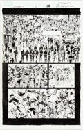 Original Comic Art:Panel Pages, Bryan Hitch and Paul Neary Ultimates 2 #4 Story Page 10Original Art (Marvel, 2005)....