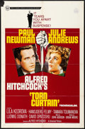 "Movie Posters:Hitchcock, Torn Curtain & Other Lot (Universal, 1966) Folded, Fine/VeryFine. One Sheet & International One Sheet (27"" X 41"").Hitchcoc... (Total: 2 Items)"