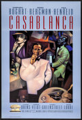 "Movie Posters:Academy Award Winners, Casablanca (Turner Entertainment, R-1992) Rolled, Very Fine-. 50th Anniversary One Sheet (27"" X 40"") SS. Gary Kelley Artwork..."
