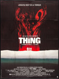 "Movie Posters:Horror, The Thing (CIC, 1982) Folded, Very Fine. French Grande (46"" X 61.5""). Horror.. ..."