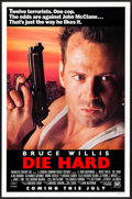 """Movie Posters:Action, Die Hard (20th Century Fox, 1988) Rolled, Very Fine. One Sheet (27"""" X 41"""") SS Advance. Action...."""